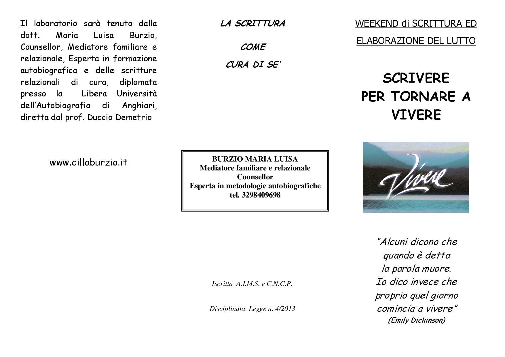 PIEGHEVOLE SCRITTURA E LUTTO Genova 2016-001