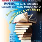 Locandina A 4 biblioteca vivente Imperia